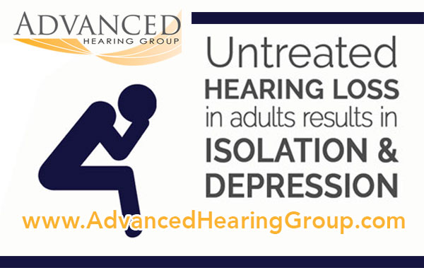 hearing loss can lead to depression and social isolation