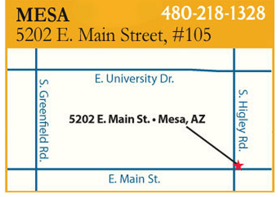 Mesa Advanced Hearing Group Location