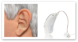 canal receiver hearing aids