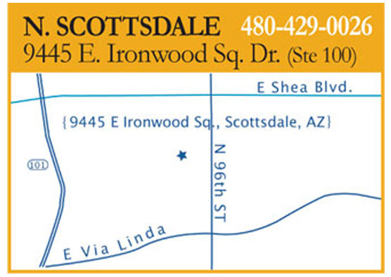 North Scottsdale Advanced Hearing Group location